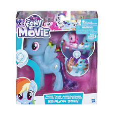 My Little Pony Il film-SHINING Amici-Rainbow Dash-Nuovo di Zecca