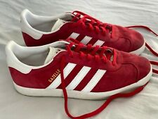 Adidas Red Gazelle Unisex Sneaker Good Condition