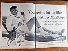 1961 Chrysler Newport Dodge Dart Valiant Ad 1961 Marlboro Man Cigarette Ad