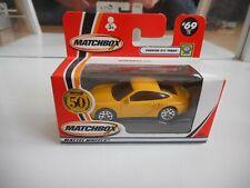 Matchbox Porsche 911 Turbo in Yellow in Box