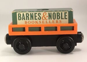 Thomas Wooden Railway Barnes & Noble Booksellers Cargo Car 2001 Train Set Toy