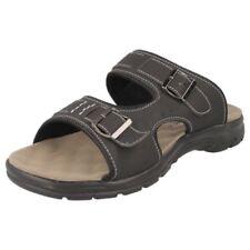 Sandali con cinturino senza marca sintetico per il mare da uomo