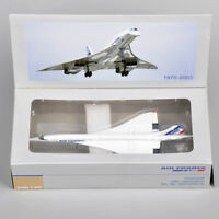 1:400 Concorde Plane Model Air France 1976-2003 Diecast Aircraft Gift Toy
