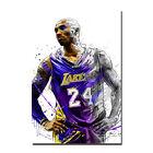 Basketball Star Kobe Bryant No.24 Lakers Art Silk Poster 13x20 32x48inch J368