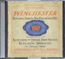 1911 Winchester Repeating Arms Co. Catalogue No. 77 on Cd - Repeating Rifles,