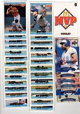 1X 1992 93 Donruss Mcdonalds MVP COMPLETE SET 1-26 + 1-6 NMMT Lots Available