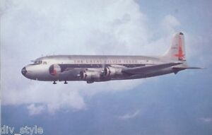 Eastern Airlines DC-4 jet airplane postcard (3)