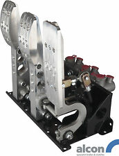 Floor Mount Bulkhead Fit Race Pedal Box With Alcon Master Cylinders OBPPRV2-1A