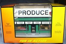 MTH RAIL KING VEGETABLE PRODUCE ROAD SIDE STAND O SCALE