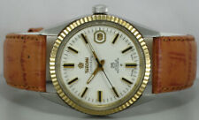 Vintage Titoni Cosmoking Date Rotomatic Auto Swiss Mens e592 Antique Watch