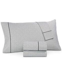 Hotel Collection Greek Key Pima Cotton 525-Thread Count 3-Pc Sheet Set - TWIN XL