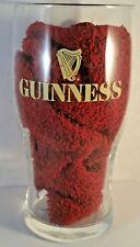 """20 oz Guinness Harp logo Beer Bar ware Bar Shape Glass Tulip 6.5"""" Tall"""