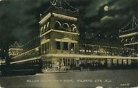 ATLANTIC CITY NJ – Million Dollar Pier at Night - 1910