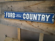 FORD COUNTRY  Display  Shop DELUXE STANDARD HOT ROD MUSTANG F150 TRUCK EMBLEM