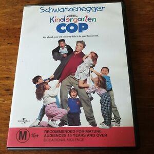 Kindergarten Cop DVD R4 Like New! FREE POST