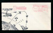 Medidor de EE. UU. el franqueo Transistor aniversario 1973 espacio Ilustrado Holmdel NJ