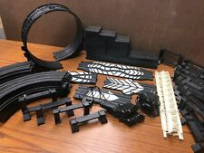 Life-Like Ho Slot Car Large Track Pack: Vertical Loop + 98 Misc. Pieces Nice