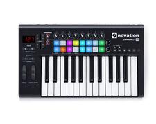 Contrôleurs audio et MIDI Novation pour équipement audio professionnel