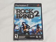 NEW (Read) Rock Band 2 Playstation 2 Game SEALED rockband ii US NTSC