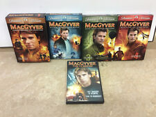 MacGyver DVD Boxsets Seasons 1-4 Plus TV Movies DVD Lot tested works