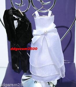 Wilton Wedding Cake Topper~ Wedding Gown & Black Tux NIB Newlywed Best Gift 2016