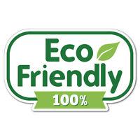 Eco Friendly Organic Environment Sticker Decal Shopfront Trading #7411EN