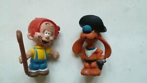Lot de 2 figurines vintage Boule et Bill