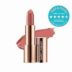 Nude by Nature Moisture Shine Lipstick 04 Blush Pink