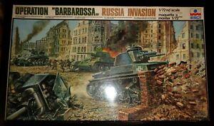 Rare? New ESCI Operation Barbarossa Russian Invasion 1/72 Diorama Kit Sealed Bag