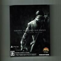 PS4 SEKIRO SHADOWS DIE TWICE GAME OF THE YEAR EDITION Japan NEW