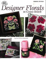 Designer Florals to Cross Stitch | American School of Needlework 3759 NEW!