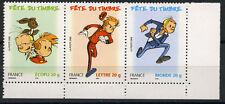 SPIROU. Fête du timbre 2006. Les 3 valeurs. Triptyque Y&T n° T3877a.  cote 7,00€