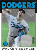 2021 Topps Series 1 1986 Topps Relics #86R-WB Walker Buehler - Dodgers