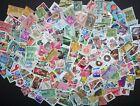 Vintage Mixed Lot Of 60-65 Used US Postage Stamps In Glassine Envelope