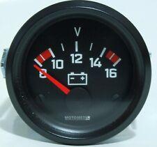 Motometer 685.002.1017 High Quality Voltmeter 52mm for 12v Vehicles