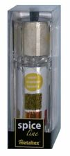 Metaltex Spice Line 2 in 1 Salzstreuer/Pfeffermühle/Gewürzmühle
