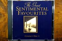 The Great Sentimental Favourites - Disc 1  - CD, VG
