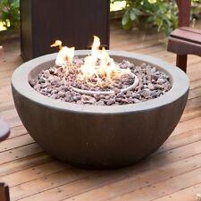 Outdoor Fire Pit Propane Gas Backyard Patio Deck Stone Fireplace 50,000 BTU New