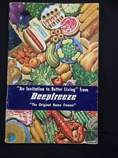 Vintage Deepfreeze Home Freezer Motor Products Chicago How To Booklet