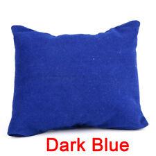 Velvet Leather Bracelet Watch Pillow Jewelry Display Boxes Holder Organizers 3c Dark Blue