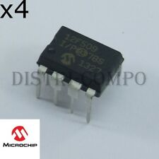 PIC12F509-I/P Microcontrôleur Microchip DIP-8 RoHS (lot de 4)