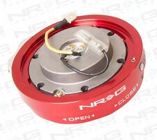 NRG Steering Wheel Quick Release Hub Kit Short (Thin Version RED Finish)