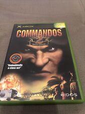 Commandos 2: Men of courage-XBOX GAME/+ XBOX 360-ORIGINAL & COMPLET