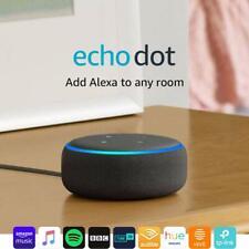 *New* Amazon Echo Dot (3rd Gen) - Smart Speaker with Alexa -Charcoal Fabric