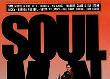SOUL MAN disco LP 33 OST colonna sonora 1986 SAM MOORE MODELS NU SHOOZ SLY STONE