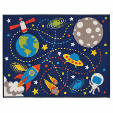 Space Moon Mission Rug 100 X 130 Cm