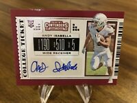 2019 Panini Contenders Draft Picks ANDY ISABELLA ROOKIE AUTO Cardinals #149