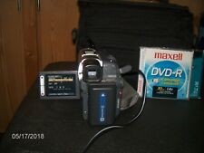 Sony Handycam Dcr-Dvd201 Digital Video Camera with Case,Battery and Charger