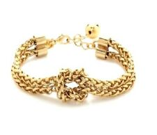 Kate Spade Knotical Knot Bracelet NWT Witty Twist On Classic Gold Chain!