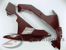 2007 2008 R1 Lower Bottom Belly Pan Oil Panel Cowling Fairing Carbon Fiber Red